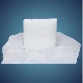 Schneedecke, 1,25 x 1,25 m, 50 g/m², schwer entflammbar