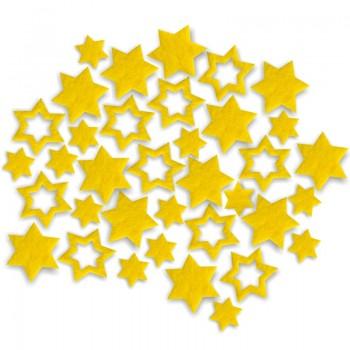 Streudeko Sterne aus Filz 5 g