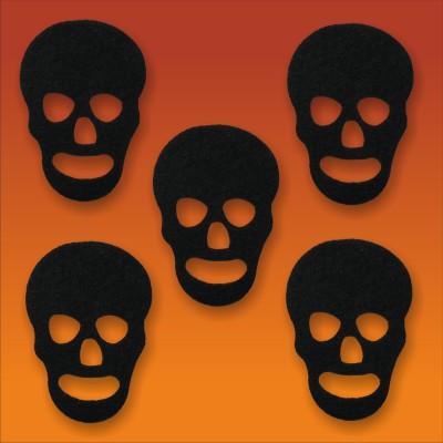 Halloween-Deko, Motiv: Totenkopf